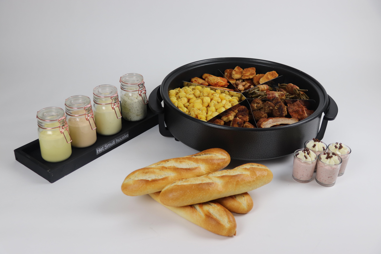 De maaltijd pan